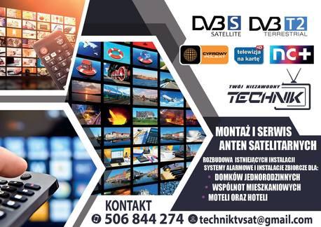 Monitoring,anteny SAT i DVB-T OGŁOSZENIE (1)